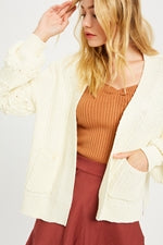 Toasty Night Knit Cardigan