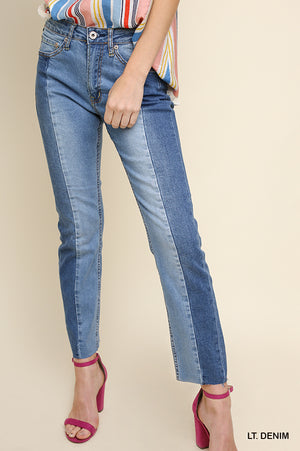 Two-Toned Denim