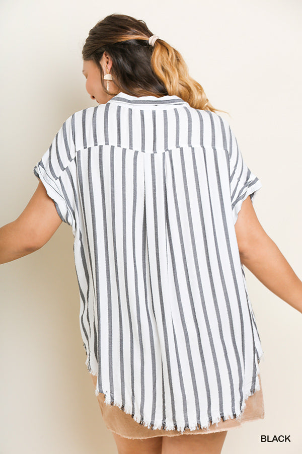 Sparkle & Stripes Top