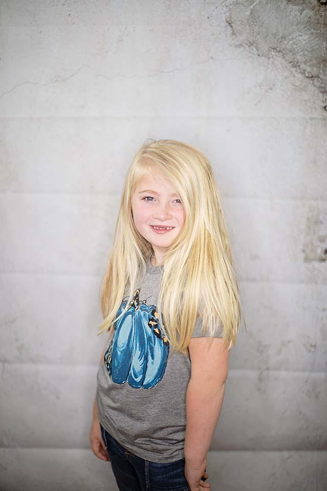 August Bleu Kids Leopard Pumpkin Tee