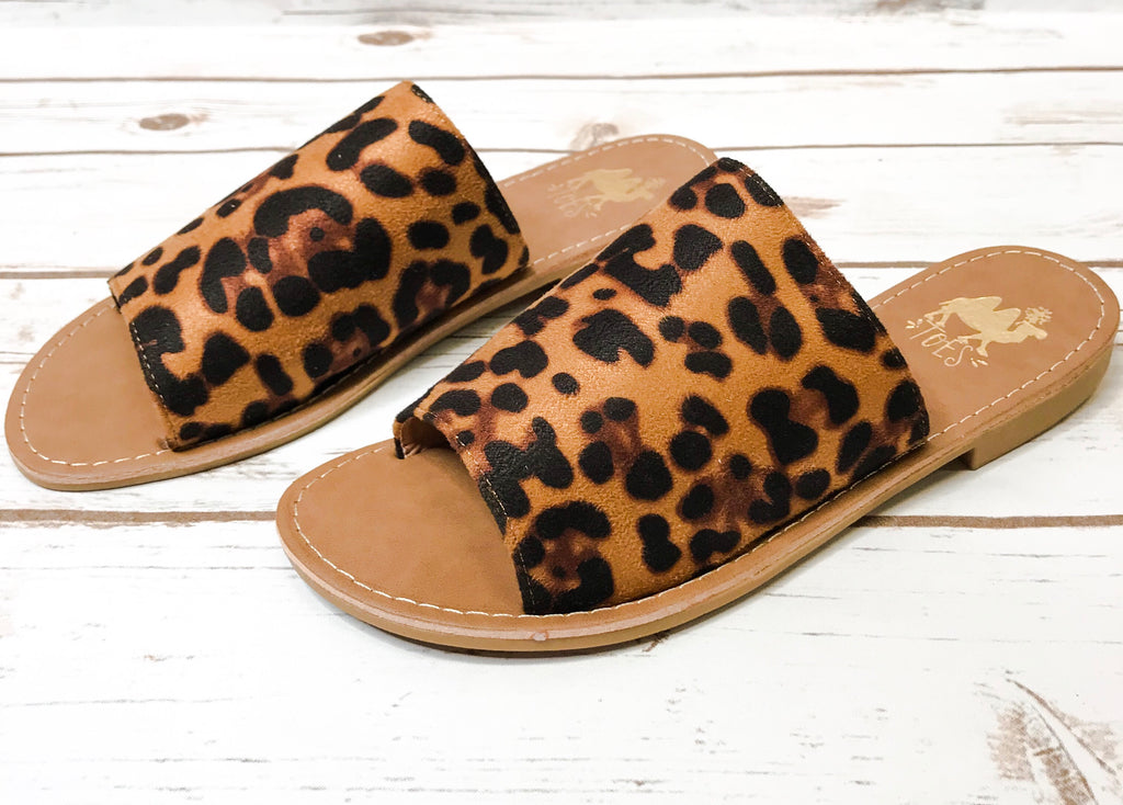 Camel Shoes-Sahara Leopard
