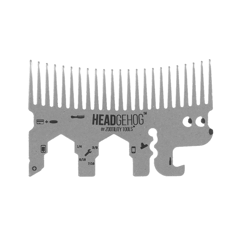 Headgehog Pocket Comb
