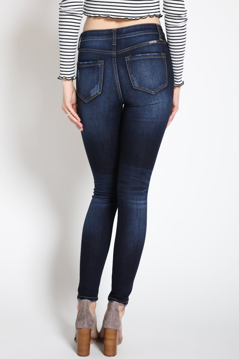 Lexy Dark Wash Skinnies