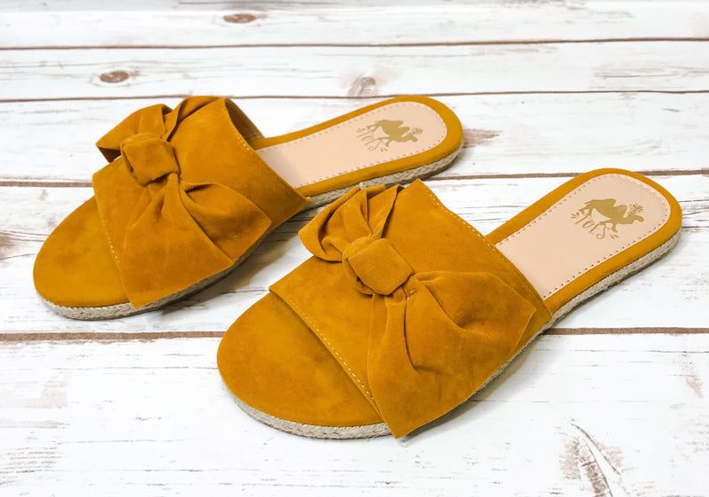 Camel Shoes- Poppy Mustard