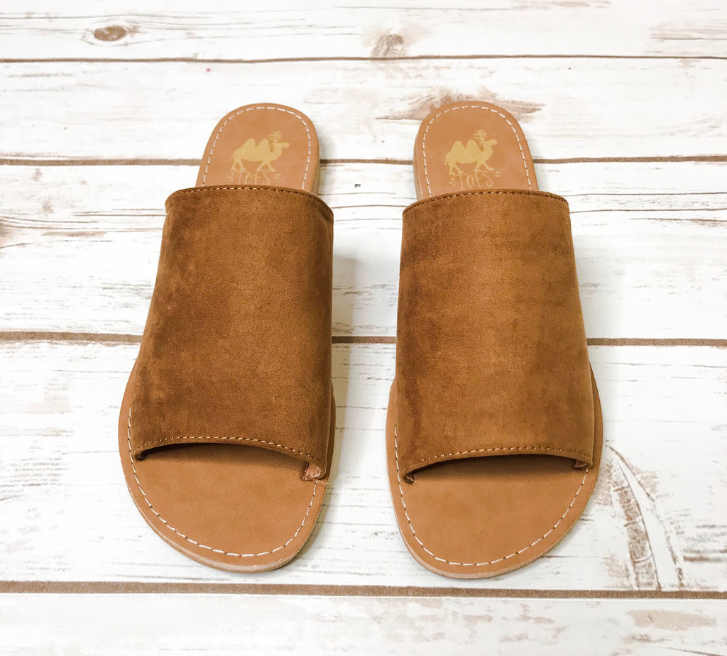 Camel Shoes- Sahara Tan