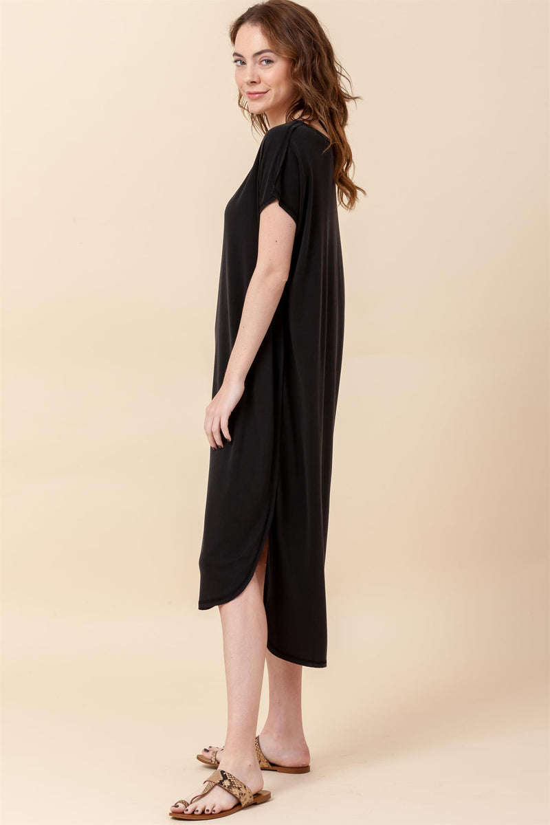 Twirl With Me Maxi- Black