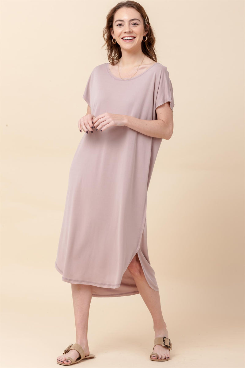 Twirl With Me Maxi- Dusty Pink