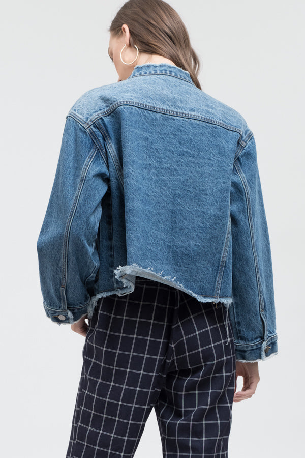 No Apologies Denim Jacket