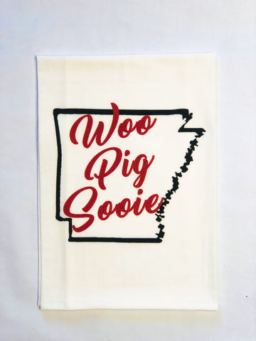 No Place Like Pig Tea Towel