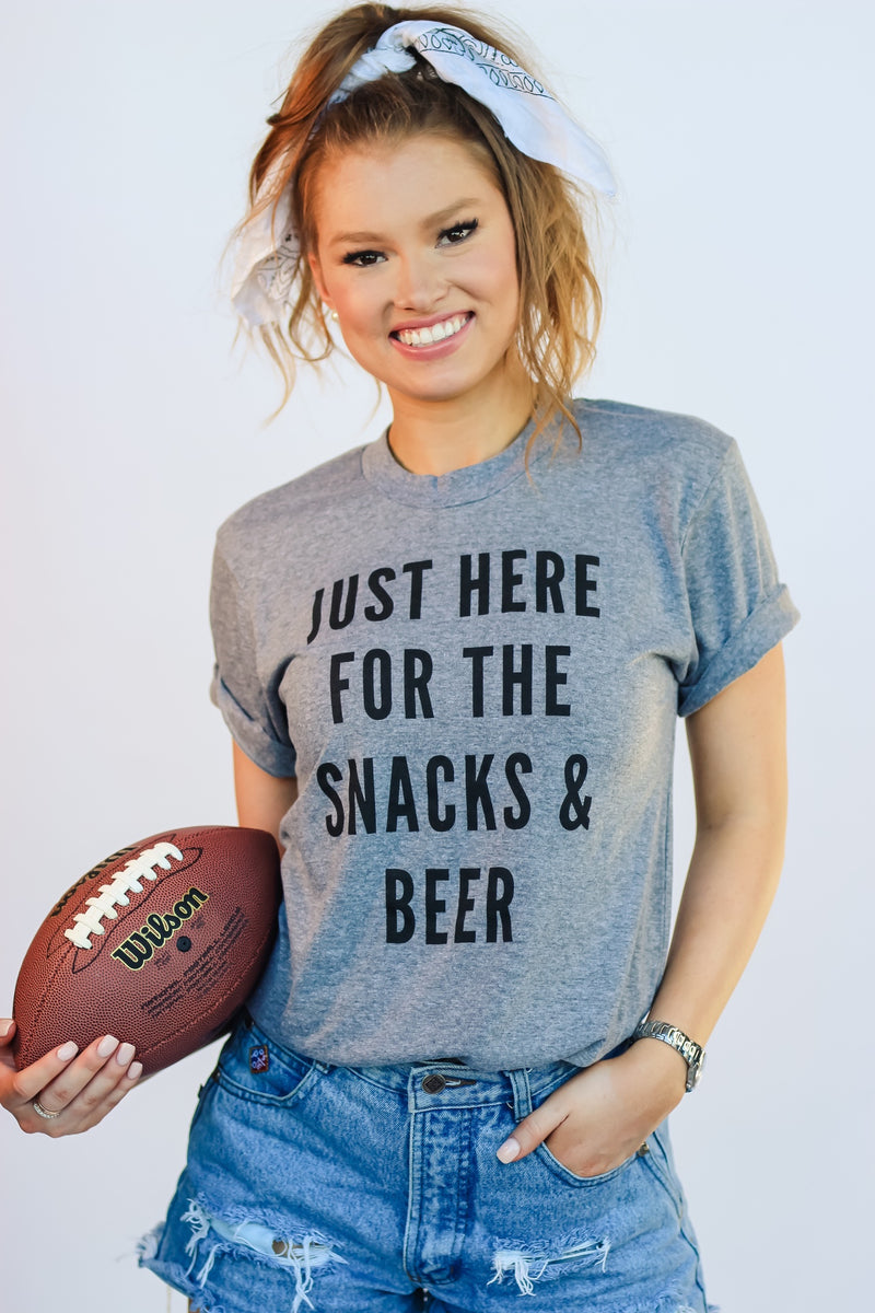 Snacks & Beer Tee