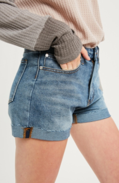 Loving Life Denim Shorts