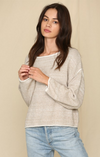 Cotton Patch Knit Sweater