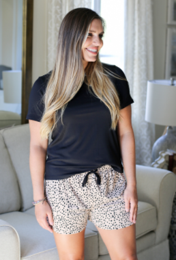 TRS Cheetah Sleep Shorts
