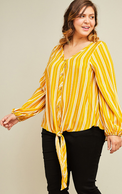 Lilian Striped Top