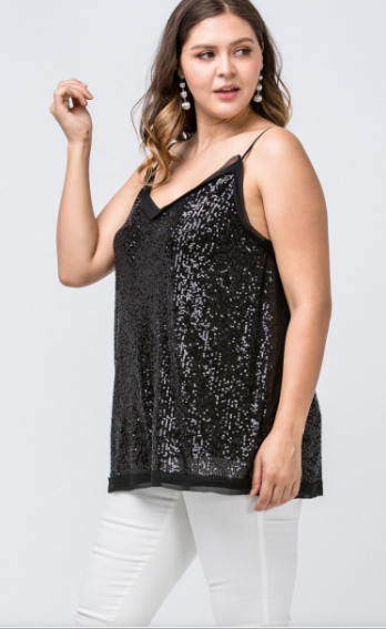 Sparkle & Shine Sequin Tank