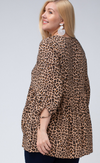 Kinley Cheetah Tunic