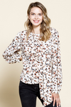 Colors of a Speckle Blouse