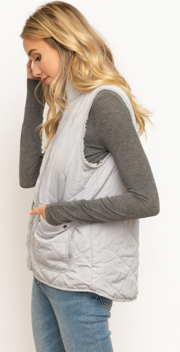 Grayscale Vest
