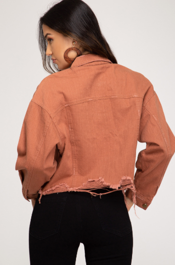 Cinnabar Denim Jacket