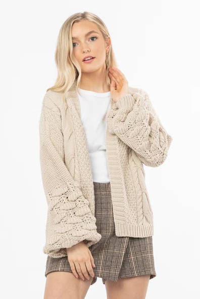 Unstoppable Knit Cardigan