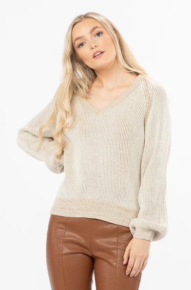 Easy Mornings Knit Sweater