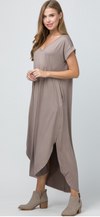 Madison Maxi- Taupe