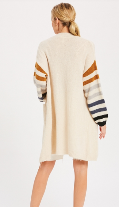 Knockout Stripe Cardigan