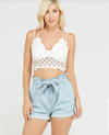 Nicole Paper Bag Shorts