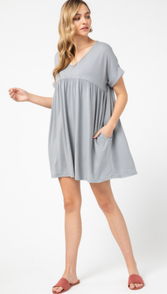 Butter Me Up Babydoll Dress