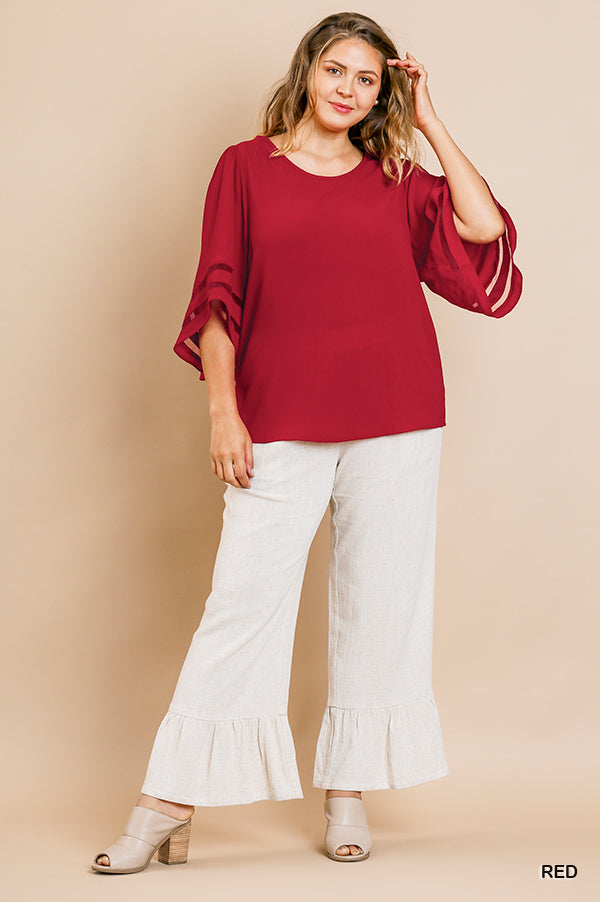 Take You There Bell Sleeve Top