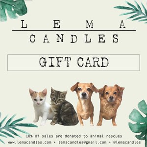 LEMA Candles Gift Card