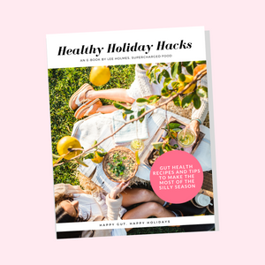 HEALTHY HOLIDAY HACKS FOR THE NEW YEAR - Free eBook by Lee Holmes
