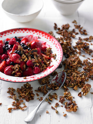 A Delicious Homemade Berry Crumble That Is Good for Your Gut Health