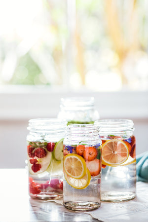 How to Create Infused Water Jars for Summer