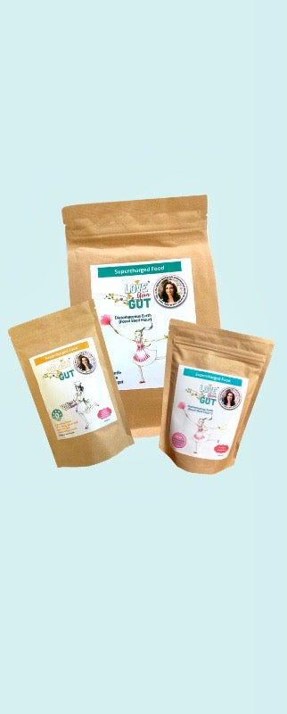 10% OFF LOVE YOUR GUT AND GOLDEN GUT POWDERS!