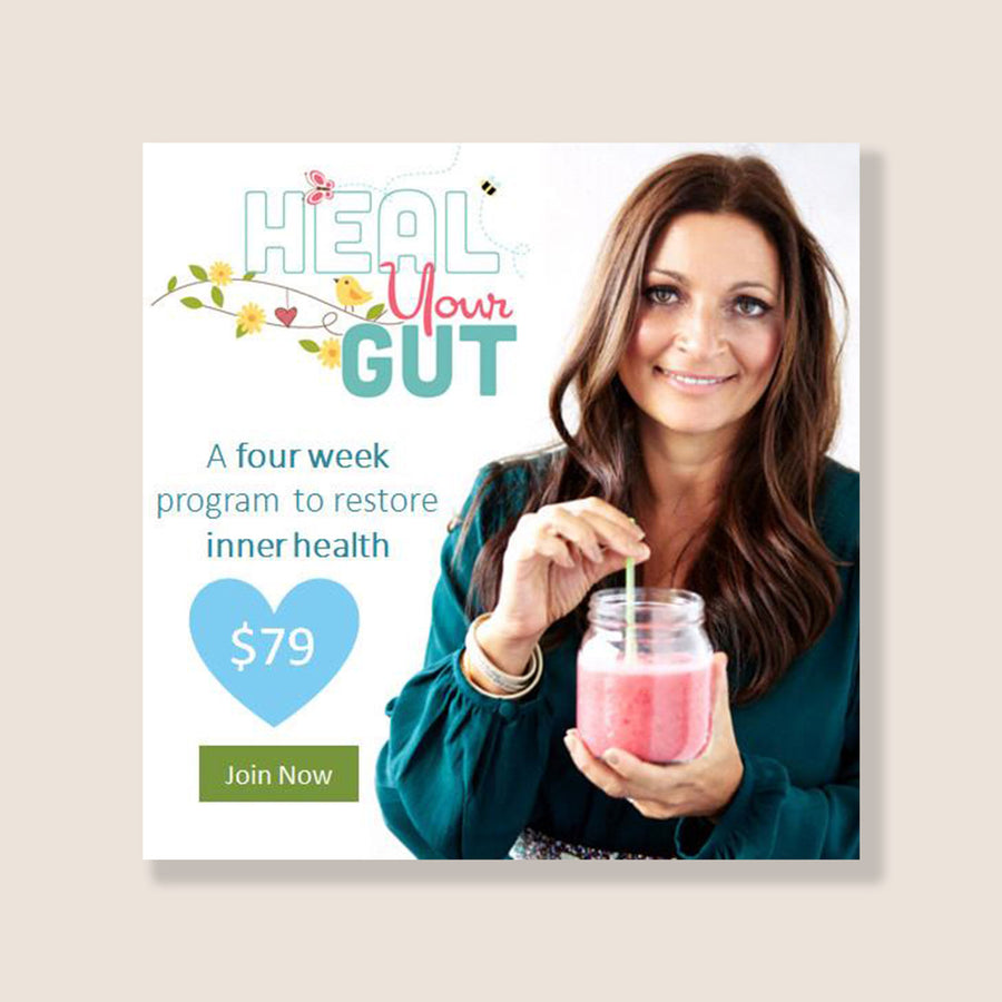 HEAL YOUR GUT 4-WEEK ONLINE PROGRAM BY LEE HOLMES