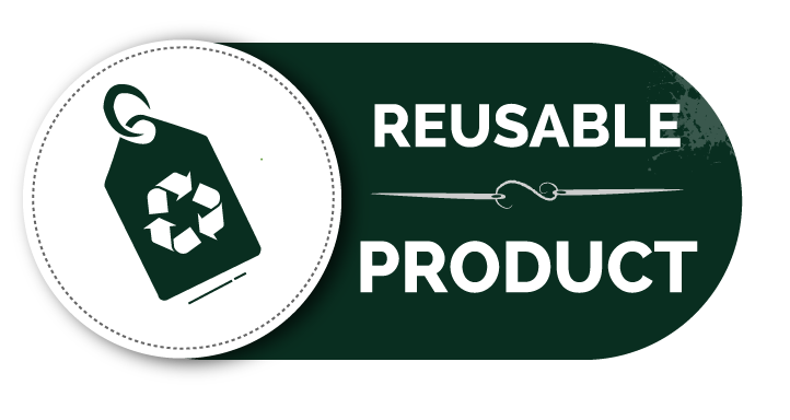 Re-usable product