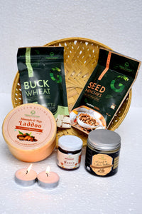 Festive Gift Hamper with all natural foods