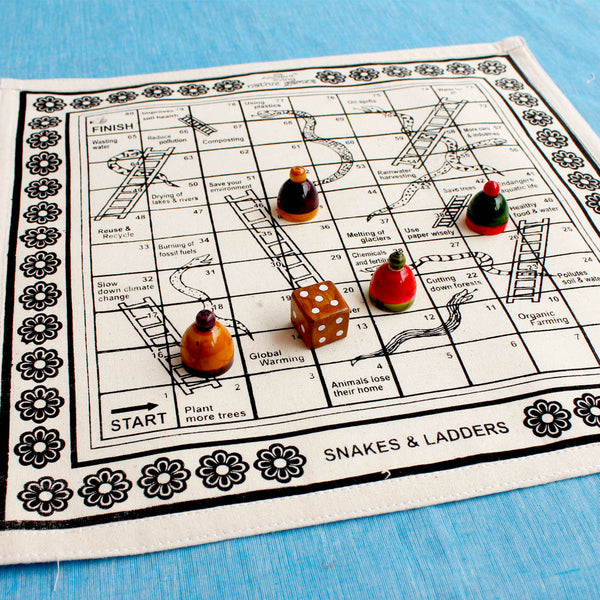 Snakes and Ladders Native Game