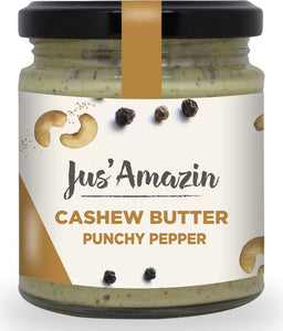 Cashew Butter - Punchy Pepper, 200g