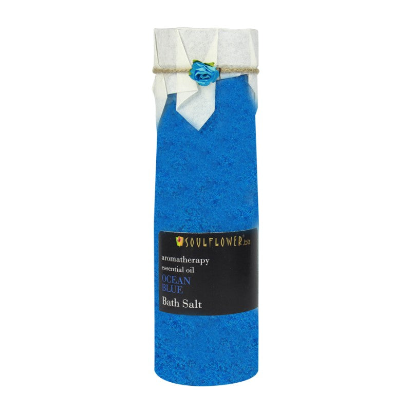 Soulflower Ocean Blue Bath Salt, 500g
