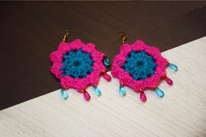 Jaal Earrings Handmade by Women Artisans