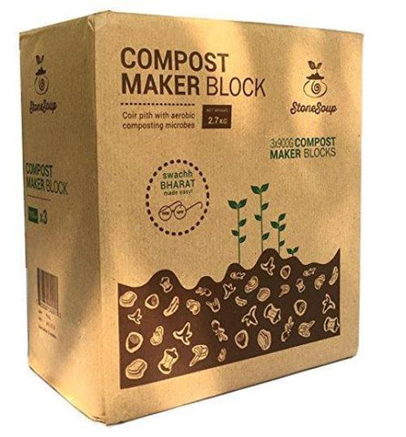 Compost Maker Block (Aerobic Composting) - 900gms