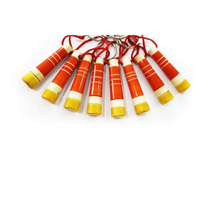 Handcrafted Wooden Whistle Toys made by Traditional Artisans (Pack of 8)