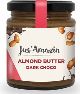 Almond Butter - Dark Choco, 200g