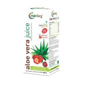 Aloevera strawberry juice 500ml.
