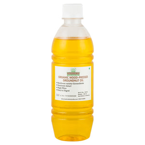 Wood-Pressed Organic Groundnut Oil