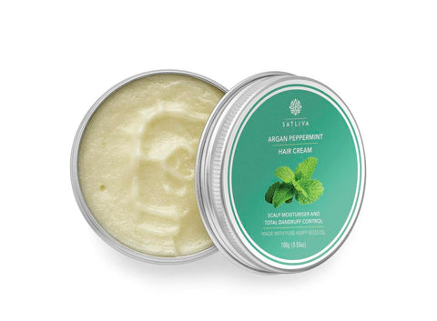 Natural Argan Peppermint Hair Cream