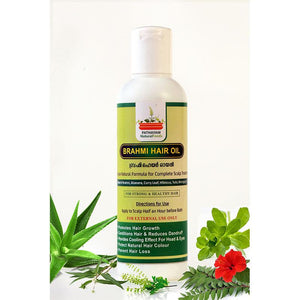 Natural Brahmi Hair Oil, 200ml