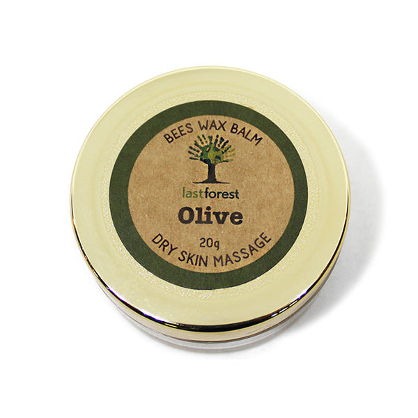 Olive Balm with Natural Beeswax